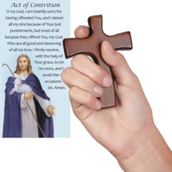 Reconciliation Hand Cross (with prayer card)