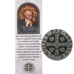 St. Benedict Pin & Bookmark