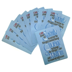 Serenity Prayer Cards (25-pack)