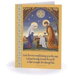 Manger Scene Christmas Cards