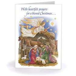 Heartfelt Christmas Prayers (box of 18)