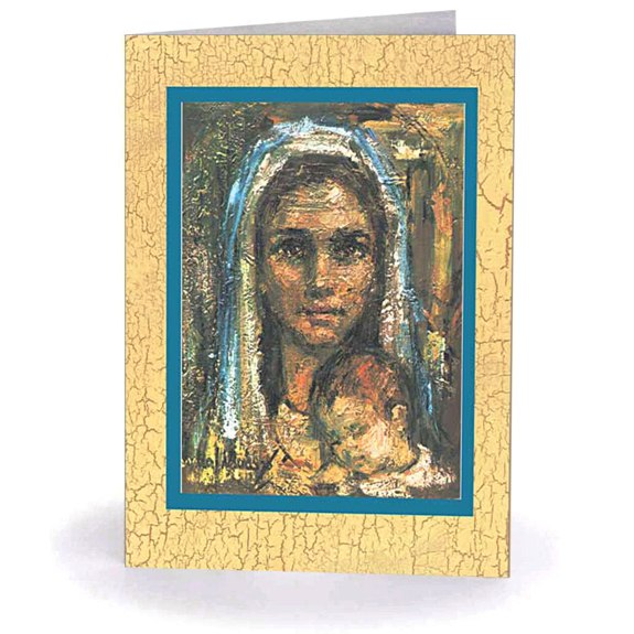 Modern Madonna & Child (box of 18)