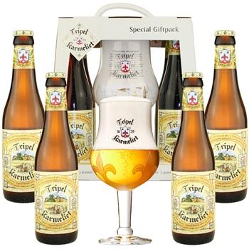 Karmeliet Gift Set (4 bottles & glass)