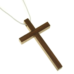 Cross Pendant (wood)
