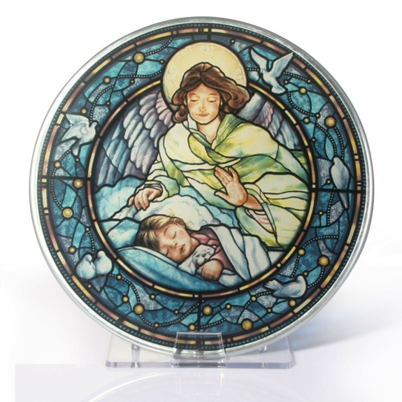 Guardian Angel Glass Suncatcher (GIRL)