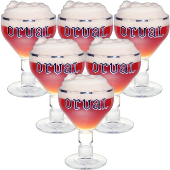 Orval Glass (set of 6)