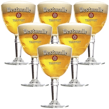 Westmalle Glass (set of 6)