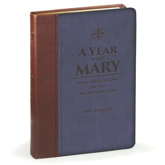 A Year with Mary (imitation leather)