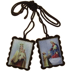 Our Lady of Carmel Wool Scapular