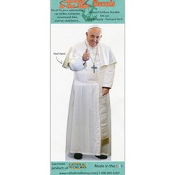 Pope Francis Thumbs Up Decal