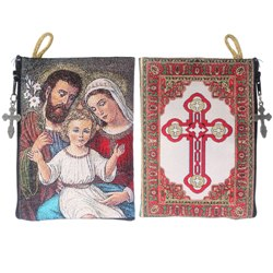 Holy Family Rosary Pouch (TIP24)