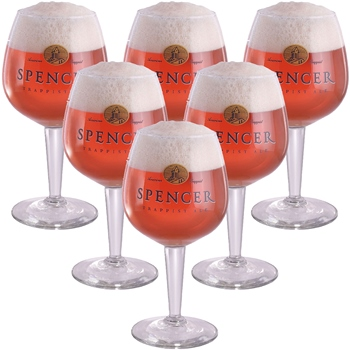 Spencer Trappist Ale Glass (set of 6)