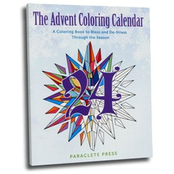 Advent Coloring Calendar (paperback)