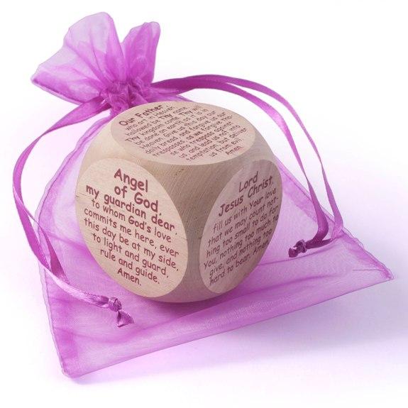 Original Catholic Prayer Cube