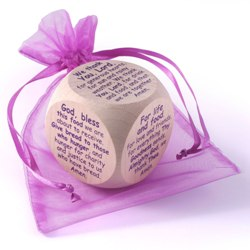Original Mealtime Prayer Cube