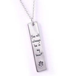 Always Be in My Heart Necklace (silver)