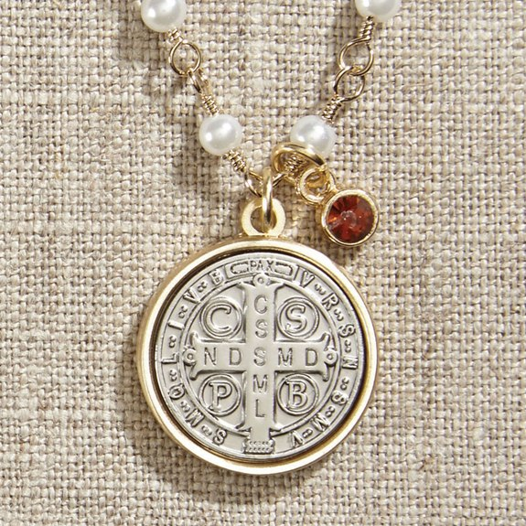 St. Benedict Necklace (gift bag)