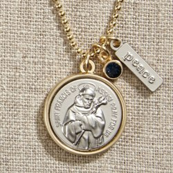 St. Francis Necklace (gift bag)