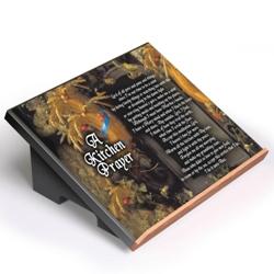 A Kitchen Prayer Cookbook Stand