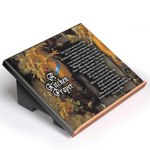A Kitchen Prayer Cookbook Stand