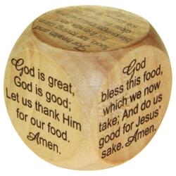 Mini Mealtime Prayer Cube