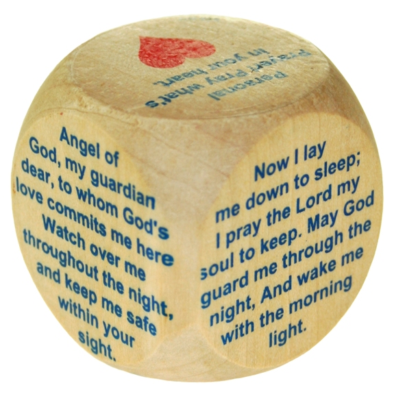 Mini Bedtime Prayer Cube