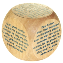 Prayer Cubes - Original Catholic Prayer Cube, Original