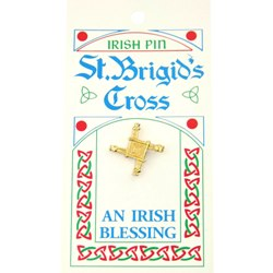 St. Brigid Irish Pin