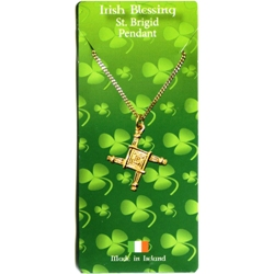 St. Brigid Irish Blessing Pendant