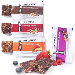 Monks' Fruit & Nut Bars Variety Pack (8 bars)