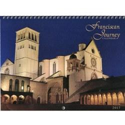 2017 Franciscan Journey Wall Calendar (spiral bound)
