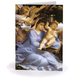 Madonna & Child with Angel (10-pack)