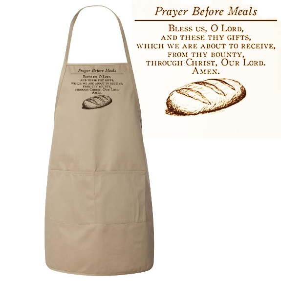 Prayer Before Meals Apron
