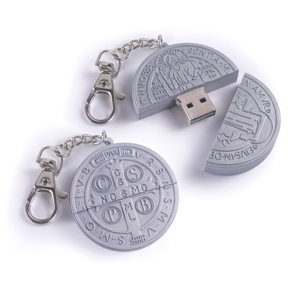 St. Benedict Medal Flash Drive