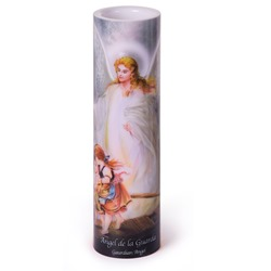 Guardian Angel LED Prayer Candle