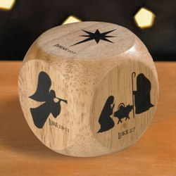 Nativity Prayer Cube (pictures)