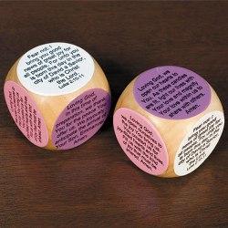 Mini Advent Prayer Cube