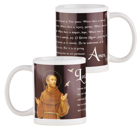 St. Francis & the Birds Mug