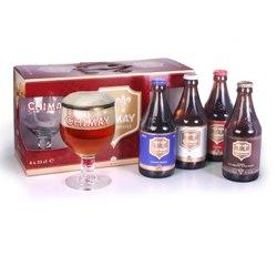Chimay Gift Set (4 ales & 2 goblets)