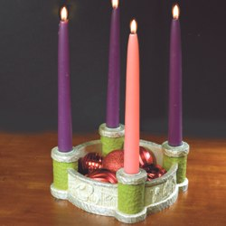 Creche Scenes Advent Wreath