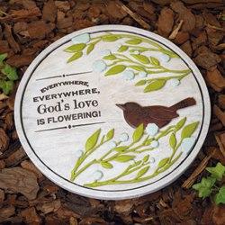God's Love Garden Stone