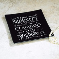 Serenity Prayer Jewelry Dish