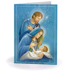 Holy Family at Night (box of 25)