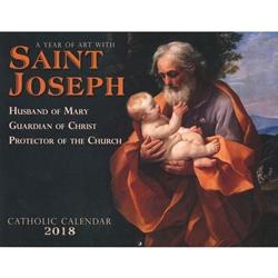 2018 St. Joseph Wall Calendar