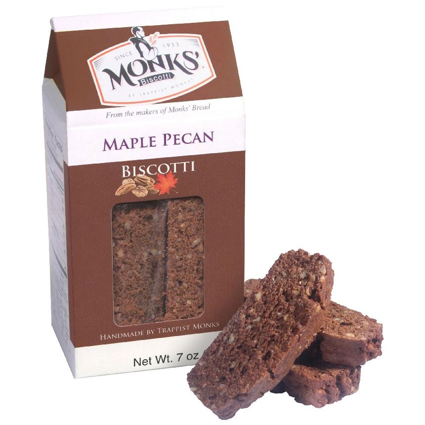 Monks' Maple Pecan Biscotti