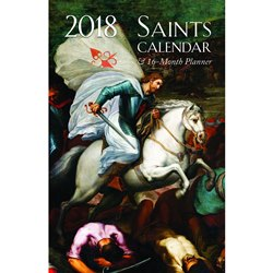 2018 Saints Daily Planner (spiral-bound)