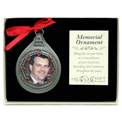 God Saw Him Photo Ornament