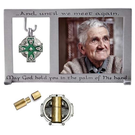 Irish Cross Memorial Frame