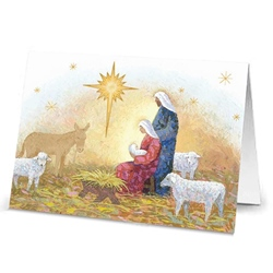 Holy Family with Animals (box of 20)