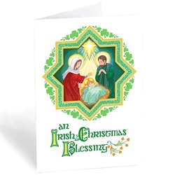 An Irish Christmas Blessing (box of 20)